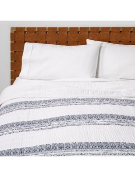 Chenille Stripe Quilt White   Opalhouse™ by Shop This Collection