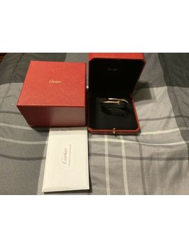 Cartier Juste Un Clou Juc 18k Rose Gold Nail Bracelet Size 18 New Style 2018 by Cartier
