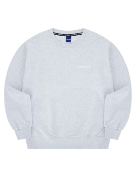 Napping Ticket Sweatshirt Melange White by Staffonly