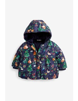 Print Padded Jacket (0mths 2yrs) by Next