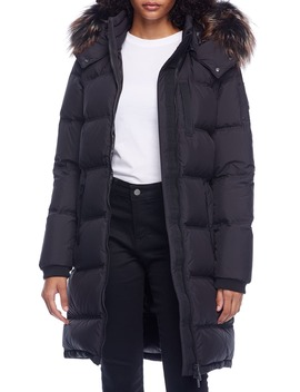 Rush Lake Genuine Fox Fur Trim Quilted Down Parka by Moose Knuckles