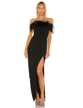 Desi Gown In Black by Likely