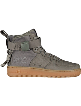 Sf Air Force 1 Mid Dark Stucco (W) by Stock X