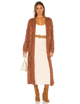 Keep In Touch Cardigan In Copper by Free People