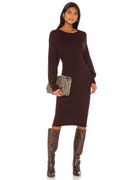 Cozumel Dress In Brown by Song Of Style