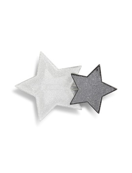 X Atlantic Pacific Double Star Hair Clip by Halogen®