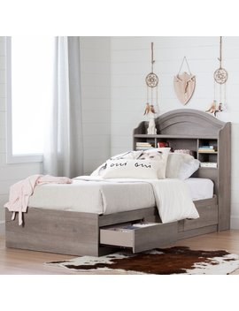 Savannah Twin Mate's & Captain's Bed With 3 Drawers by South Shore