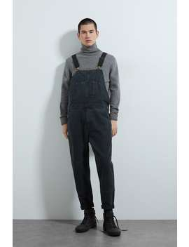 Denim Worker Dungarees by Zara