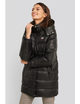 Kelli Down Puffer Jacket Black by Levis