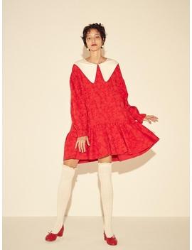 Jacquard Mini Dress   Red/Black by Johnny Hates Jazz
