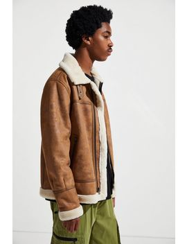 Uo Faux Shearling B3 Bomber Jacket by Urban Outfitters