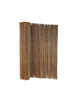 6 Ft. X 8 Ft. Caramel Brown Full Round Bamboo Fence by Home Depot