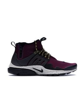 Air Presto Mid Utility Bordeaux by Stock X