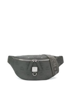 Embossed Logo Belt Bag by Mcm
