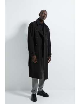 Dobbeltspent Trenchcoat by Zara