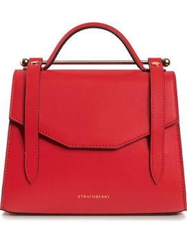 Mini Allegro Calfskin Leather Tote by Strathberry