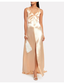 Hammered Satin Gown by Philosophy Di Lorenzo Serafini
