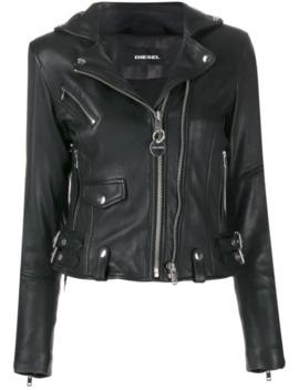 Studded Biker Jacket by Diesel