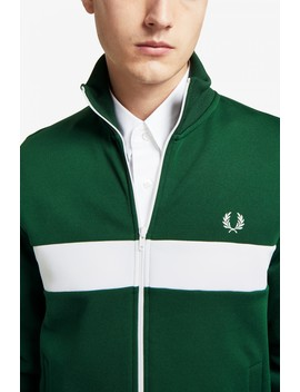 Chest Panel Track Jacket by Fred Perry