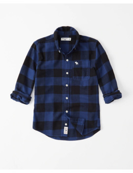 Icon Flannel Shirt by Abercrombie & Fitch
