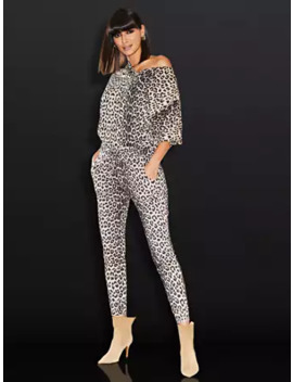 Leopard Print Jogger   Sweet Pea by New York & Company