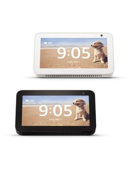 Amazon 2 Pack Of Echo Show 5 Displays With Alexa And Vouchers by Amazon