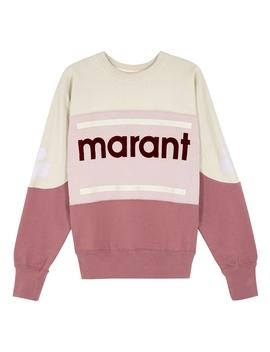 Gallian Panelled Cotton Blend Sweatshirt by Isabel Marant Étoile