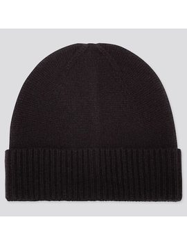 Cashmere Knitted Beanie Hat (13) by Uniqlo