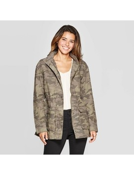 Women's Camo Print Utility Anorak Jacket   Universal Thread™ by Universal Thread