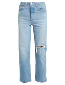 Ribcage Straight Ankle   Straight Leg Jeans by Levi's®