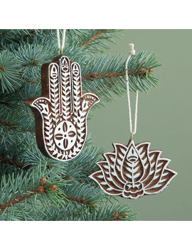 Yogi Ornaments by Uncommon Goods