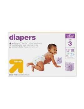 Diapers Giant Pack (Select Size)   Up&Up™ by Up&Up