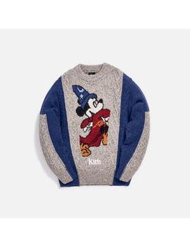 Kith X Disney 40s Ryan Cable Knit Sweater by Kith