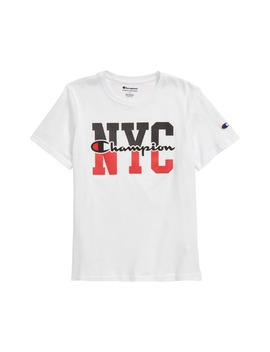 Nyc Graphic T Shirt by Champion