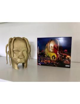 Travis Scott Astroworld Head Cover Album 3 D Printed Figurine by Etsy