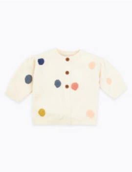 Polka Dot Cardigan by Marks & Spencer