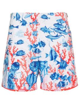 пляжные шорты с принтом 'bulldog' by Orlebar Brown
