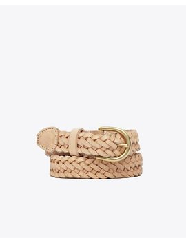 Talia Braided Belt by Nisolo