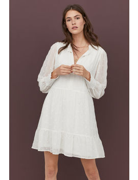 Платье с вышивкой by H&M