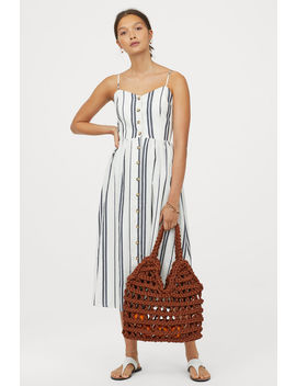 Платье на пуговицах by H&M