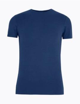 Supersoft Supima® Cotton Blend Vest by Marks & Spencer