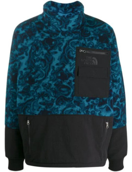 Contrast Panel Oversize Jumper by The North Face