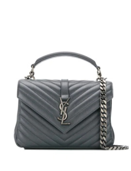 Mellemstor Skuldertaske Med Monogram by Saint Laurent