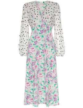 Melanie Chiffon Floral Dress by Rixo