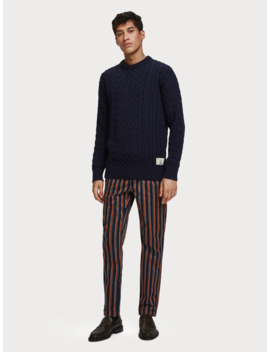Cable Knit Sweater by Scotch&Soda