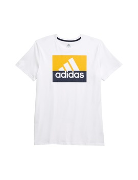 Block Graphic T Shirt by Adidas