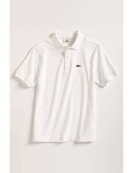 Short Sleeve Piqué Polo by Lacoste