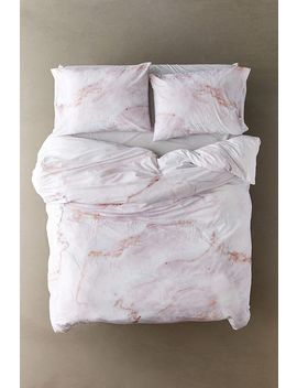 Pink Agate Duvet Cover Set by Urban Outfitters