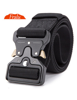 Fralu 2019 Hot Mens Tactical Belt Military Nylon Belt Outdoor Multifunctional Training Belt High Quality Strap Ceintures by Ali Express.Com