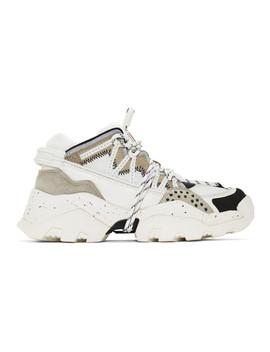 White Inka Sneakers by Kenzo